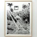 「脱出の庭」リトグラフ 129×97cm 2017