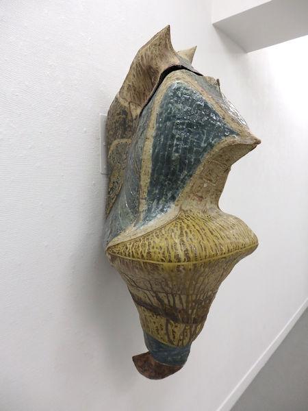 「蛹」 陶器  1100×500×550mm  2018