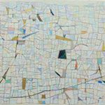 「いつかの散歩で見た景色」キャンバスに油彩 18×14cm 2019