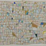 「日がたくさん降りそそぐ島」キャンバスに油彩 10×15cm 2020
