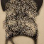 「amaryllis-2」エッチング、アクアチント 20×15cm